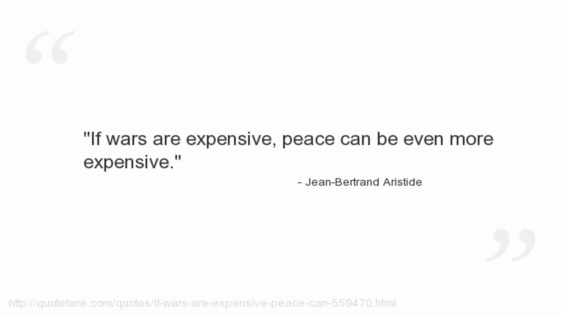 Jean-Bertrand Aristide's quote #5