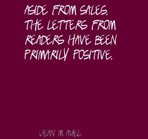 Jean M. Auel's quote #5