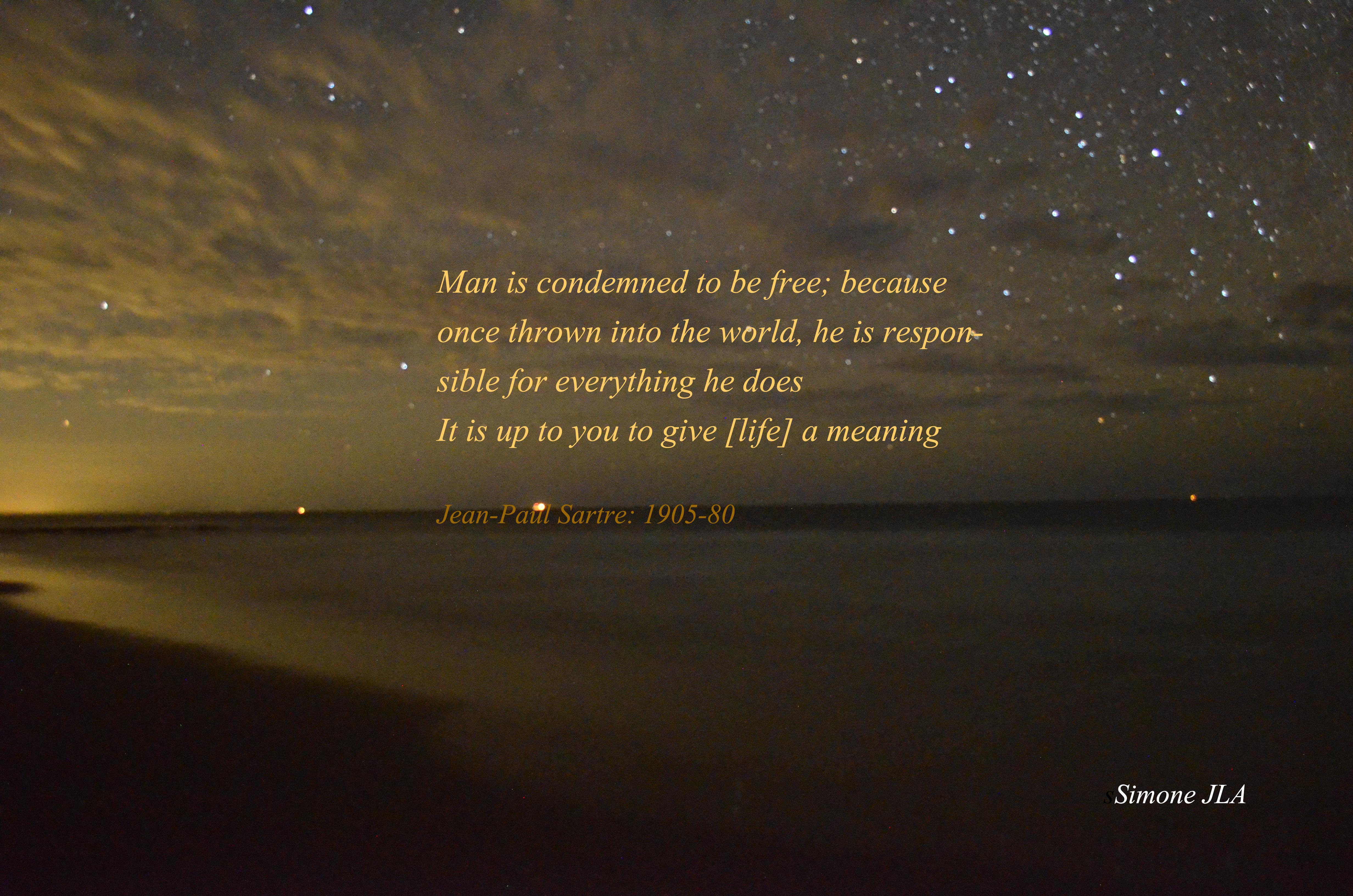 Jean-Paul Sartre's quote #2