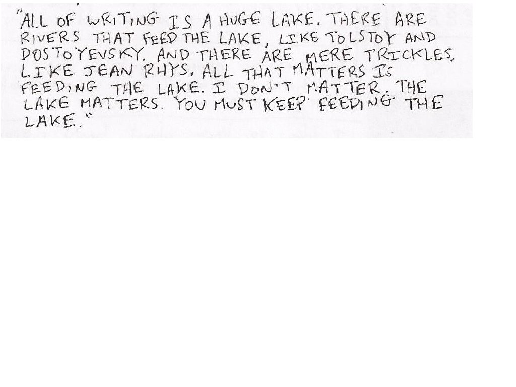 Jean Rhys's quote #1