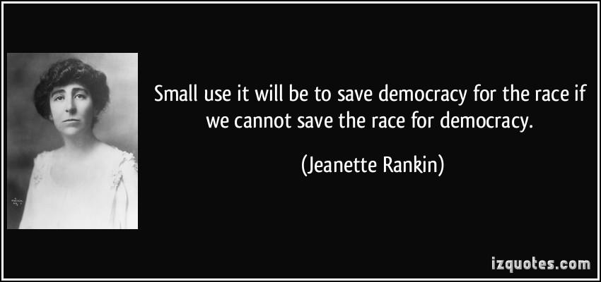 Jeanette Rankin's quote #5