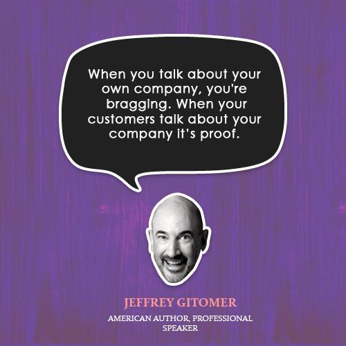 Jeffrey Gitomer's quote #1