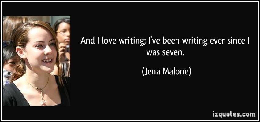 Jena Malone's quote #2