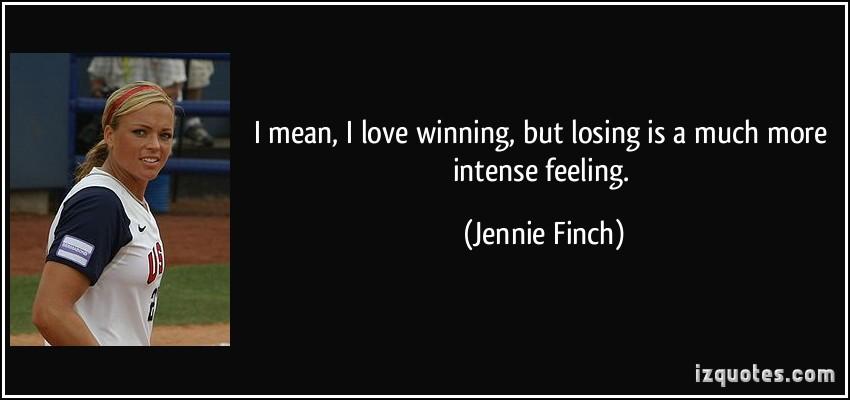 Jennie Finch's quote #2