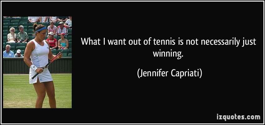 Jennifer Capriati's quote #5