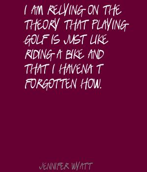Jennifer Wyatt's quote