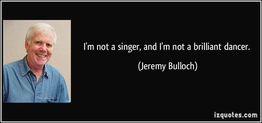 Jeremy Bulloch's quote #1