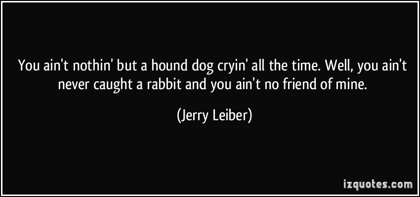 Jerry Leiber's quote #7