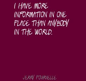 Jerry Pournelle's quote #5