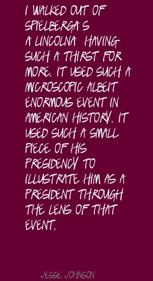 Jesse Johnson's quote #2