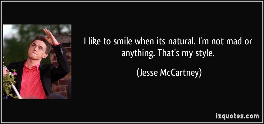 Jesse McCartney's quote #5