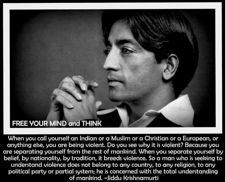 Jiddu Krishnamurti's quote #4