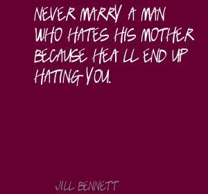 Jill Bennett's quote