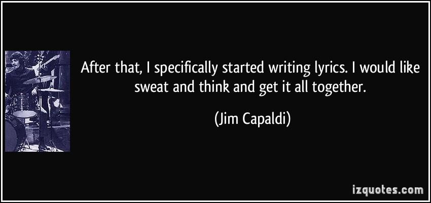 Jim Capaldi's quote #5