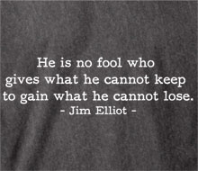 Jim Elliot's quote #4