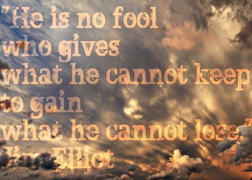 Jim Elliot's quote #2