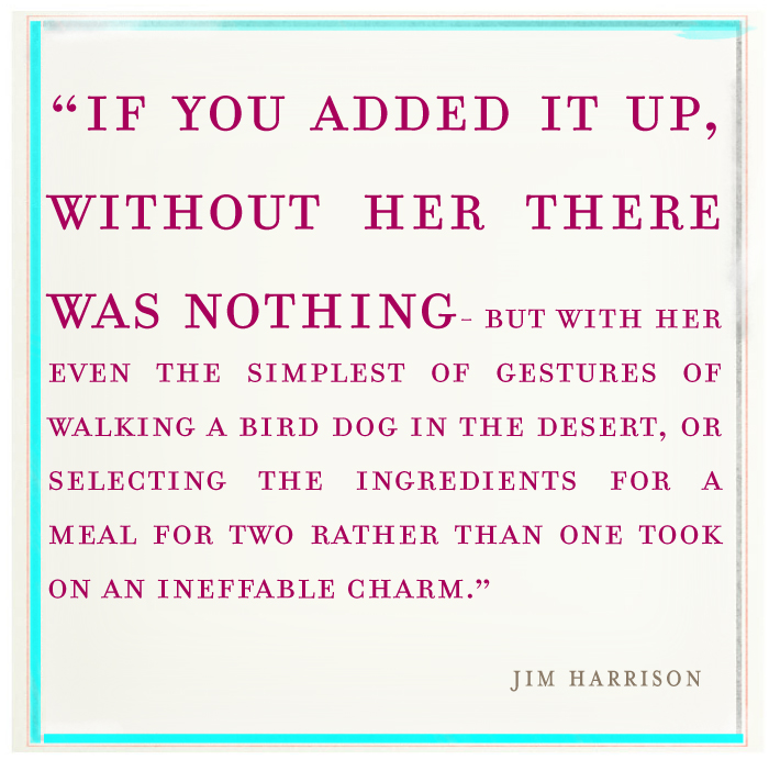 Jim Harrison's quote #4