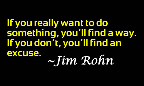 Jim Rohn's quote