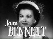 Joan Bennett's quote #3