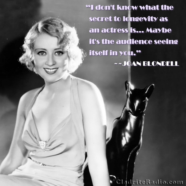 Joan Blondell's quote #1