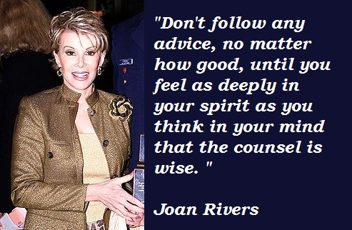 Joan Rivers's quote #2
