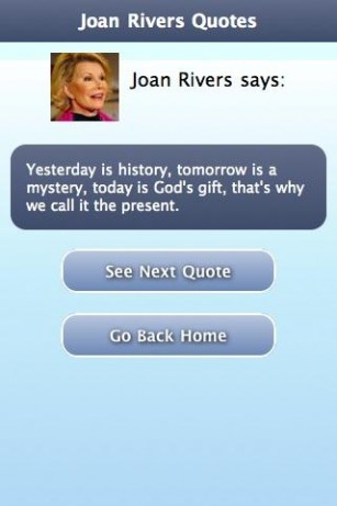 Joan Rivers's quote #3