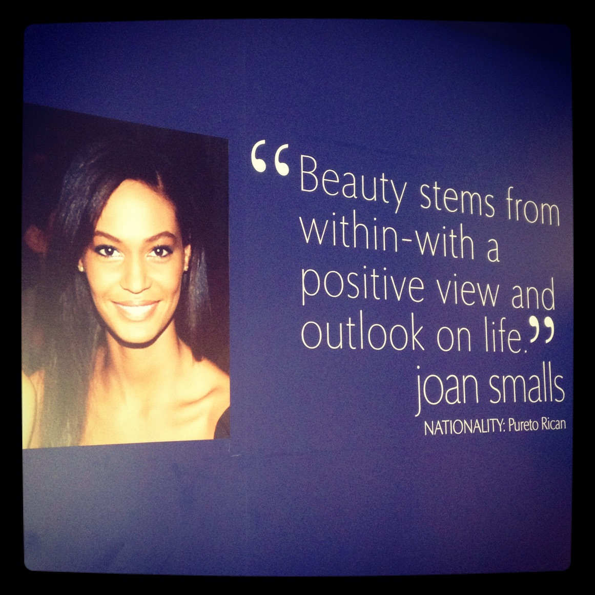 Joan Smalls's quote #1
