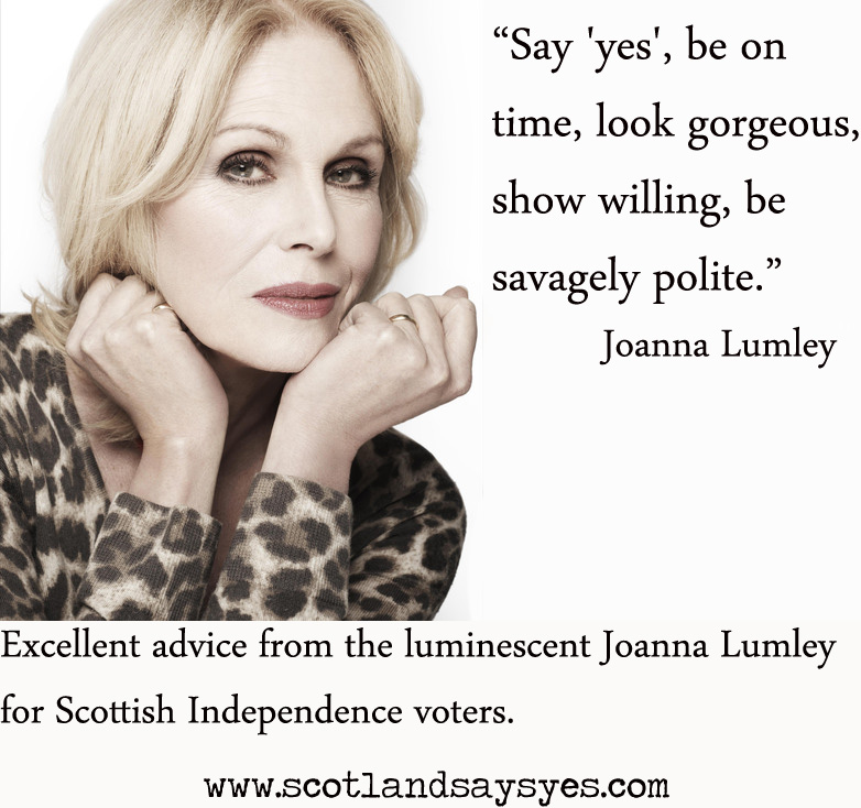 Joanna Lumley's quote #7