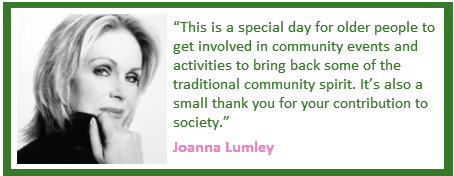Joanna Lumley's quote #1