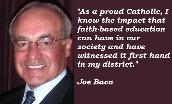Joe Baca's quote #3