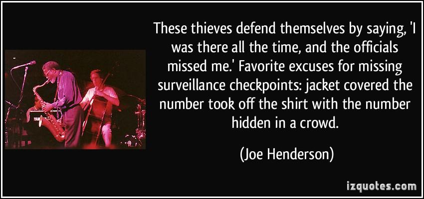 Joe Henderson's quote #2