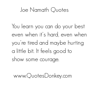 Joe Namath's quote #6