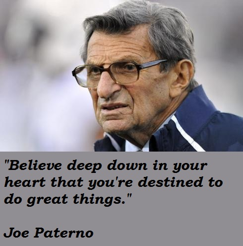 Joe Paterno's quote #4