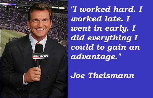Joe Theismann's quote #2