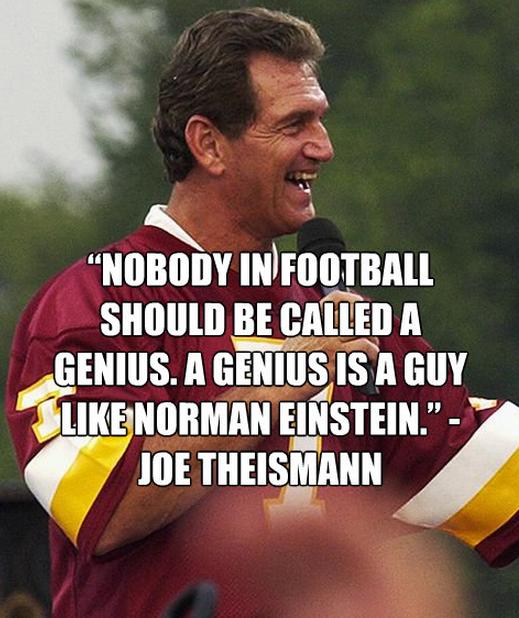 Joe Theismann's quote #3