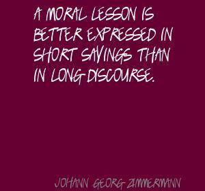 Johann Georg Zimmermann's quote