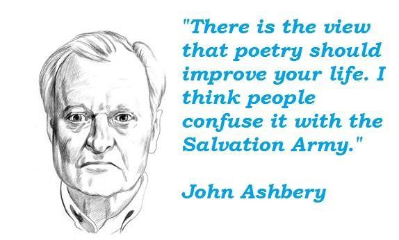 John Ashbery's quote #2