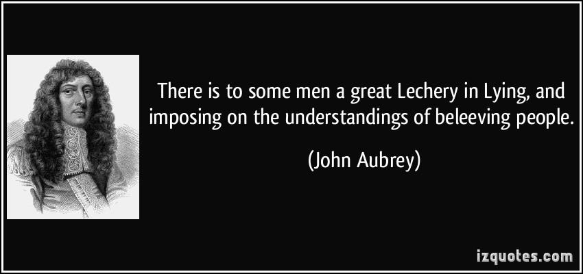 John Aubrey's quote #2