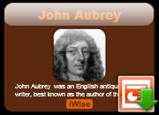 John Aubrey's quote #1