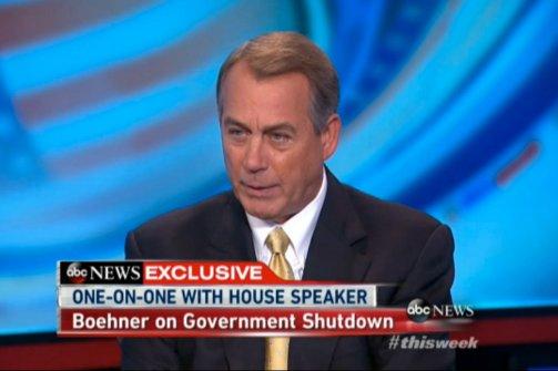 John Boehner's quote #1