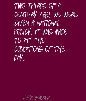John Bracken's quote