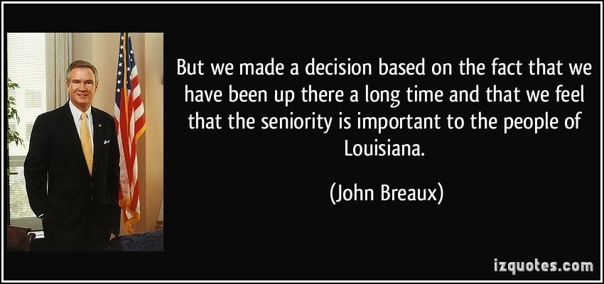 John Breaux's quote #2