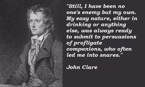 John Clare's quote #1