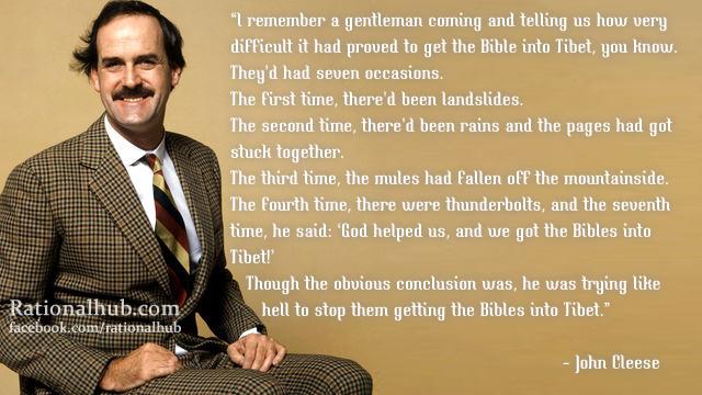 John Cleese's quote #1