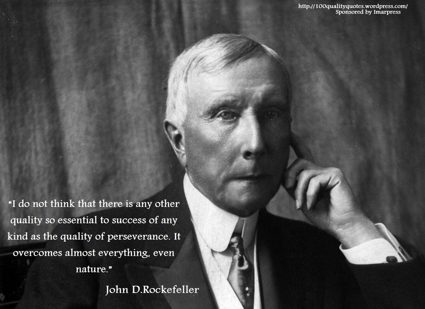 John D. Rockefeller's quote #2