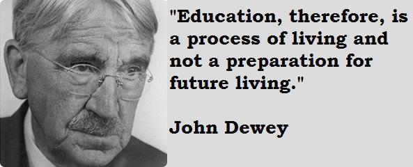 John Dewey's quote #5