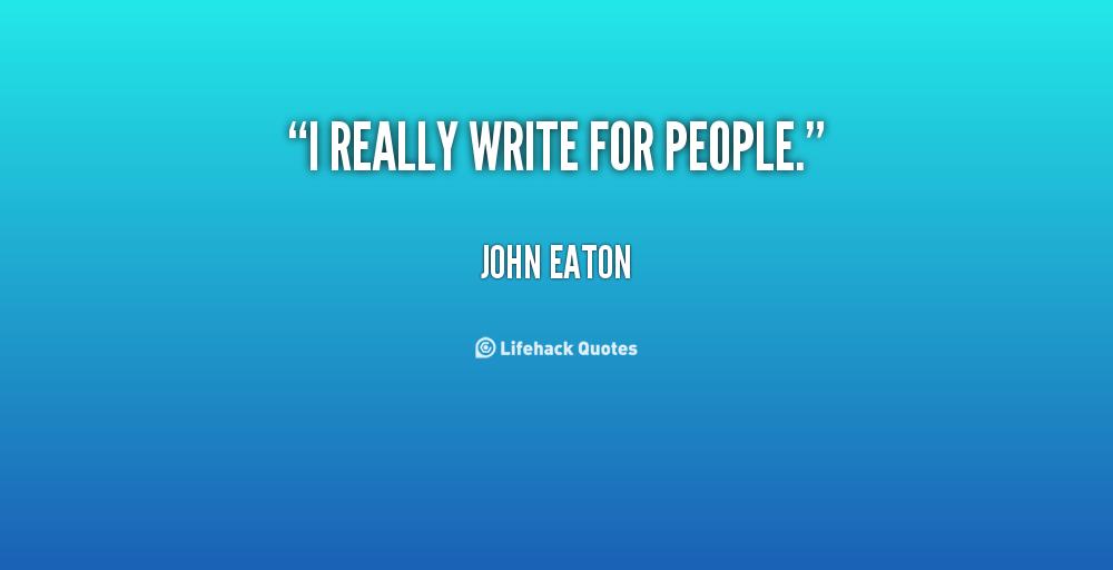 John Eaton's quote #1
