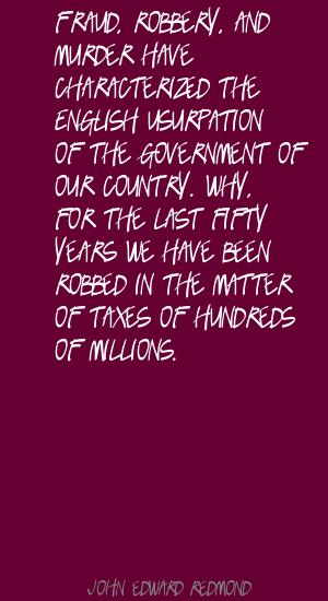 John Edward Redmond's quote