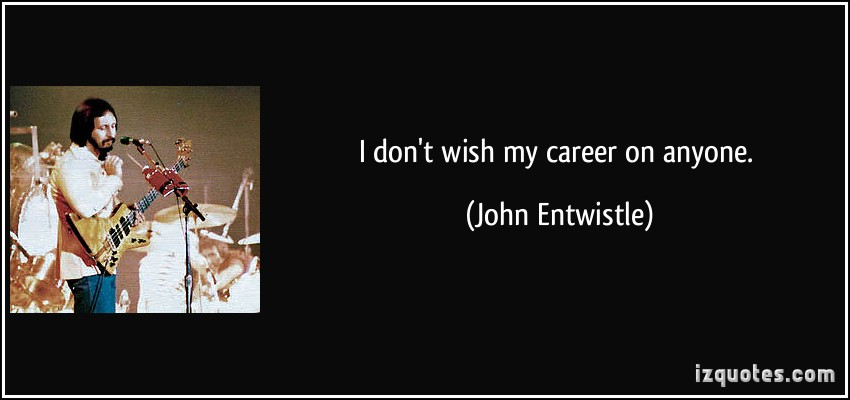 John Entwistle's quote #6