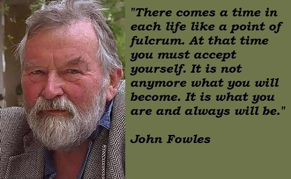 John Fowles's quote #2